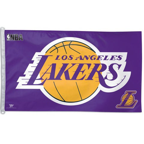 Los Angeles Lakers Flag 3x5 Foot