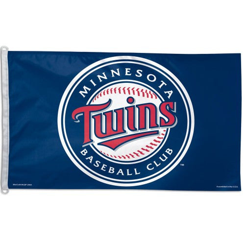 Minnesota Twins 3x5 Foot Flag