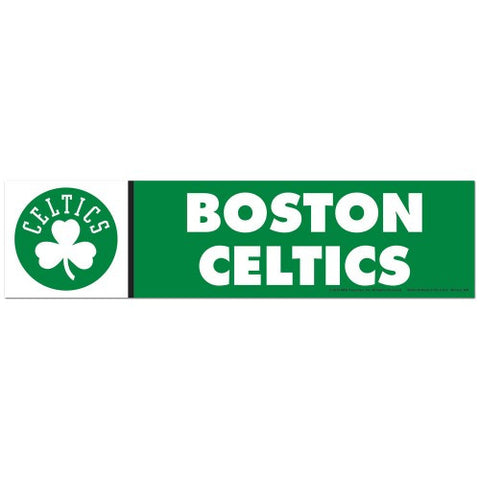 Boston Celtics Bumper Sticker (2-Pack)