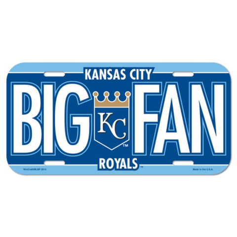 Kansas City Royals License Plate