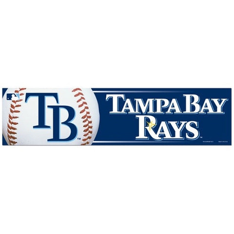 Tampa Bay Rays Bumper Sticker (2-Pack)