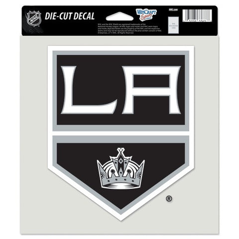 Los Angeles Kings Full Color Car Window Sticker Decal 8x8 Inches
