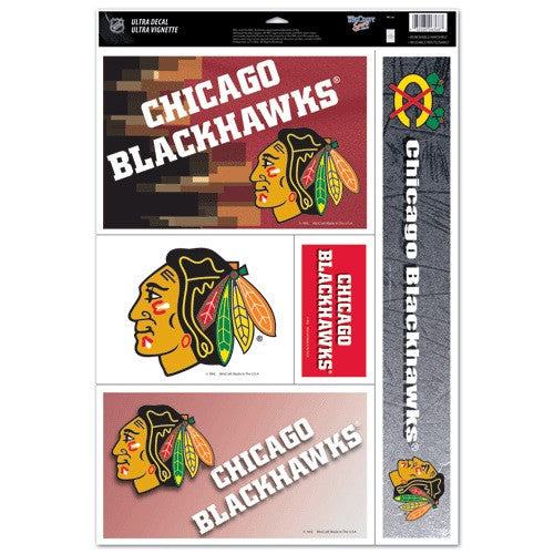 Chicago BlackHawks Decals Window Clings