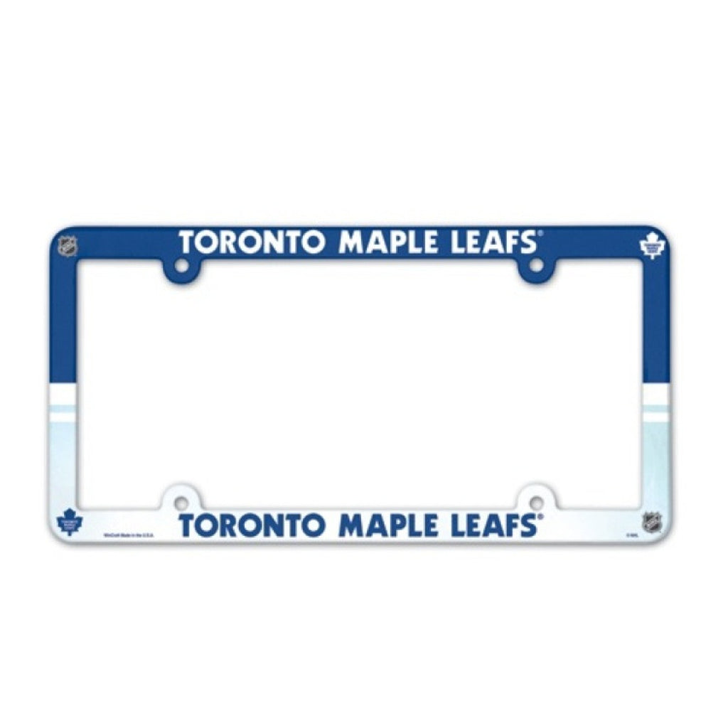Toronto Maple Leafs License Plate Frame (2-Pack)