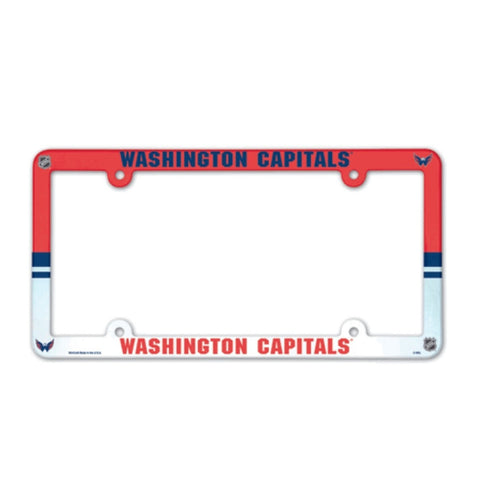 Washington Capitals License Plate Frame (2-Pack)