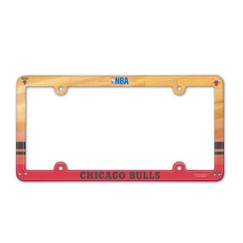 Chicago Bulls License Plate Frame (2-Pack)