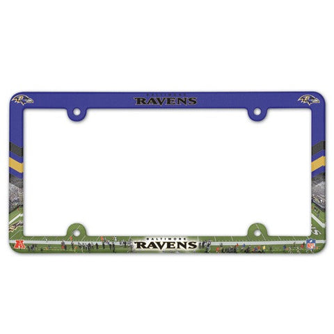 Baltimore Ravens License Plate Frame (2-Pack)