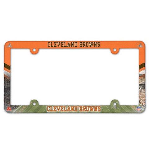 Cleveland Browns License Plate Frame (2-Pack)