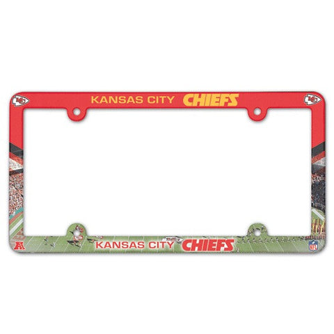 Kansas City Chiefs License Plate Frame (2-Pack)