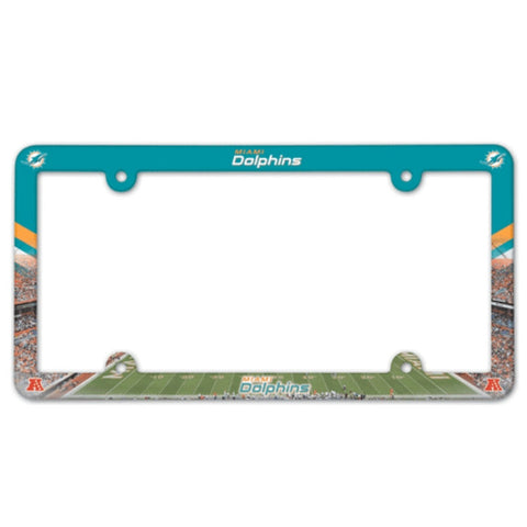 Miami Dolphins License Plate Frame (2-Pack)