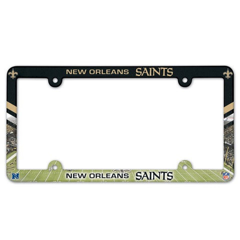 New Orleans Saints License Plate Frame (2-Pack)
