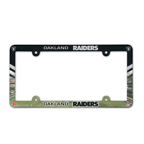 Oakland Raiders License Plate Frame (2-Pack)