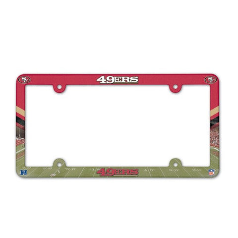 San Francisco 49ers License Plate Frame (2-Pack)