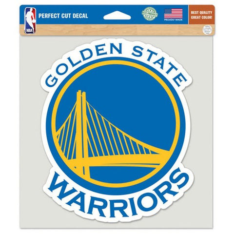 Golden State Warriors Full Color Car Window Sticker Decal 8x8 Inches