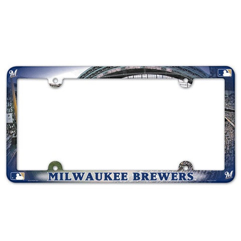 Milwaukee Brewers License Plate Frame (2-Pack)
