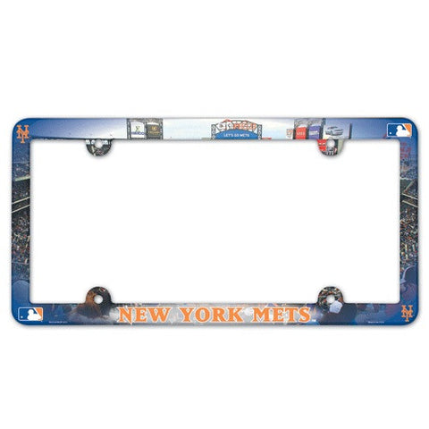 New York Mets License Plate Frame (2-Pack)