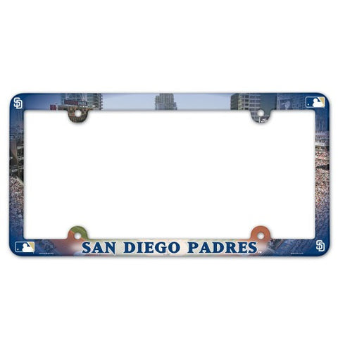 San Diego Padres License Plate Frame (2-Pack)