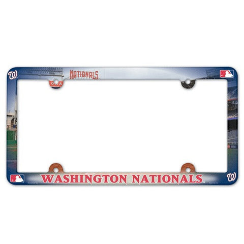 Washington Nationals License Plate Frame (2-Pack)