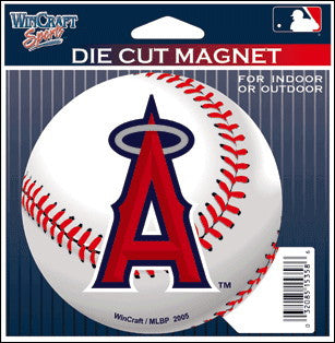 MLB Anaheim Angels Die Cut Magnet