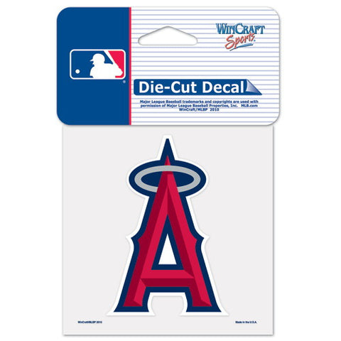Anaheim Angels Full Color Car Window Sticker Decal 4x4 Inches