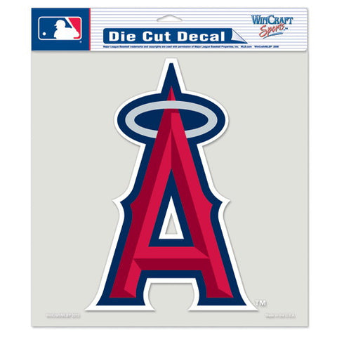 Anaheim Angels Full Color Car Window Sticker Decal 8x8 Inches