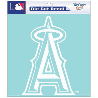 Anaheim Angels Car Window Sticker Decal 8x8 Inches