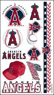 Anaheim Angels Temporary Tattoo