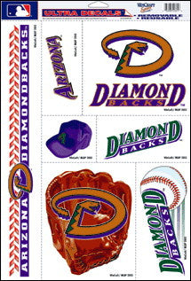 Arizona Diamondbacks Decals Window Clings