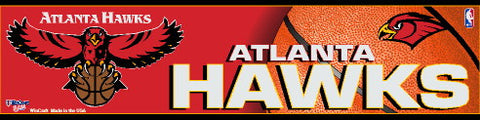 Atlanta Hawks Bumper Sticker (2-Pack)