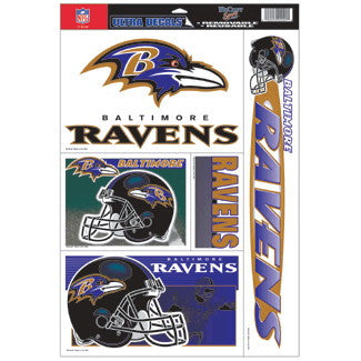 Baltimore Ravens Decals Window Clings