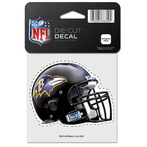 Baltimore Ravens Full Color Car Window Sticker Decal 4x4 Inches