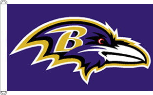 Baltimore Ravens Flag 3x5 Foot