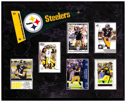Ben Roethlisberger Mini Pennant Plaque