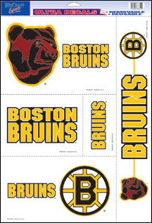 Boston Bruins Decals Window Clings