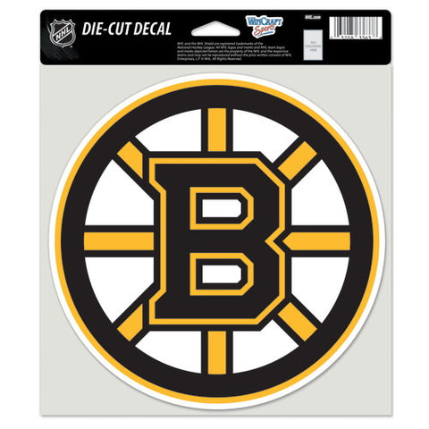 Boston Bruins Full Color Car Window Sticker Decal 8x8 Inches