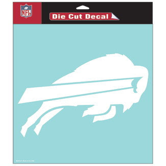 Buffalo Bills Car Window Sticker Decal 8x8 Inches