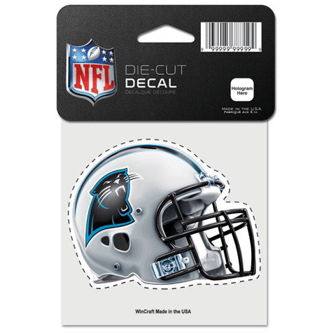 Carolina Panthers Full Color Car Window Sticker Decal 4x4 Inches