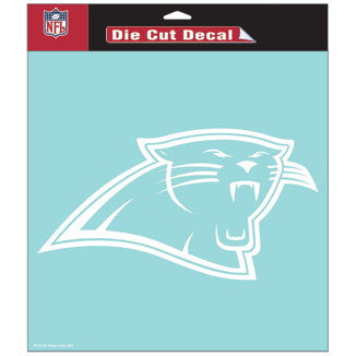 Carolina Panthers Car Window Sticker Decal 8x8 Inches