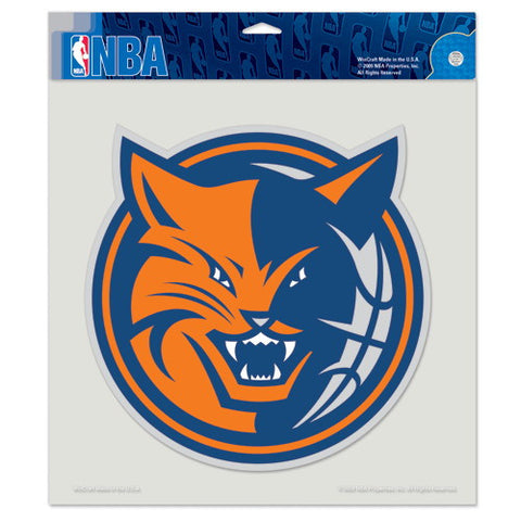 Charlotte Bobcats Full Color Car Window Sticker Decal 8x8 Inches
