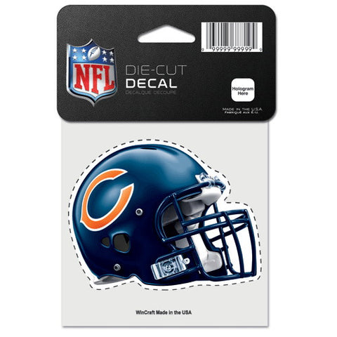 Chicago Bears Full Color Car Window Sticker Decal 4x4 Inches