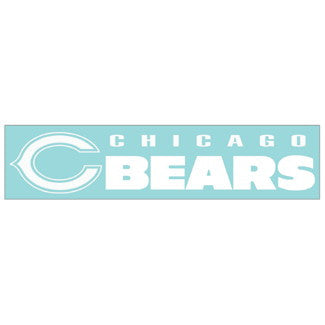 Chicago Bears Car Window Sticker Decal 4x16 Inches