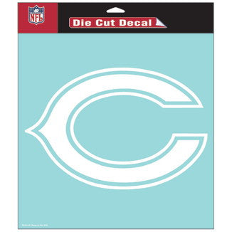 Chicago Bears Car Window Sticker Decal 8x8 Inches