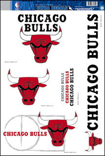 Chicago Bulls Decals Window Clings