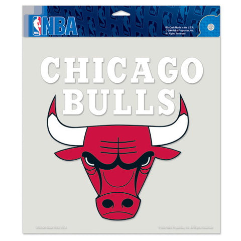 Chicago Bulls Full Color Car Window Sticker Decal 8x8 Inches