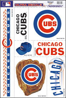 Chicago Cubs Decals Window Clings