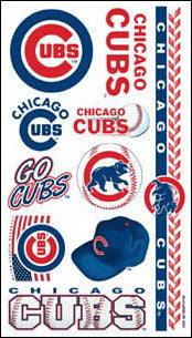 Chicago Cubs Temporary Tattoo