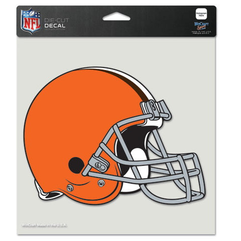 Cleveland Browns Full Color Car Window Sticker Decal 8x8 Inches