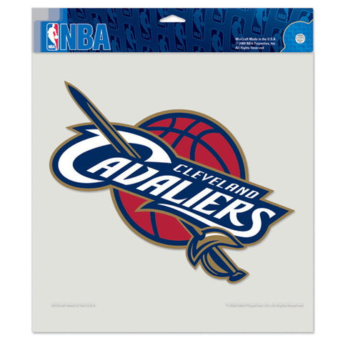 Cleveland Cavaliers Full Color Car Window Sticker Decal 8x8 Inches