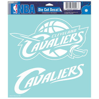 Cleveland Cavaliers Car Window Sticker Decal 8x8 Inches
