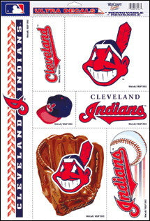 Cleveland Indians Decals Window Clings